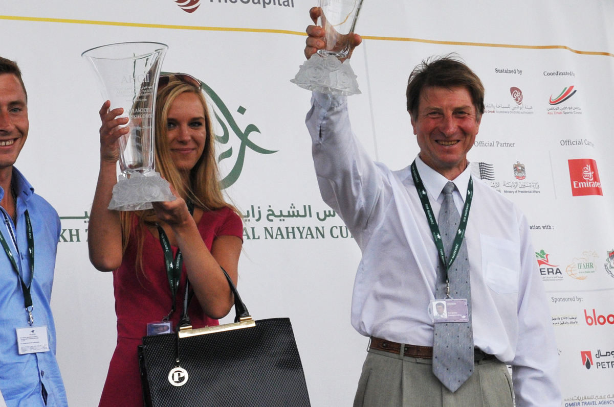 Race sponsored by the Arabian Horse Culture International Institute that took place within the United Arab Emirates Day and Sheikh Zayed Al Nahyan Festival. Summer 2015 http://www.arabianhorseculture.com/