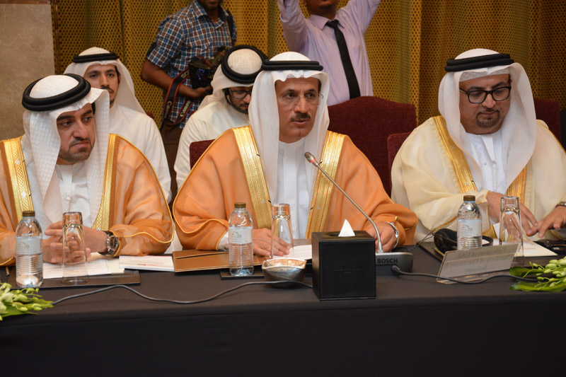 AHCII chairman Lucas Luniewski at the conference with representation of the United Arab Emirates business and government. Meeting led by Minister of State and a member of the UAE Cabinet HE Sultan bin Saeed Al Mansoori. http://www.arabianhorseculture.com/